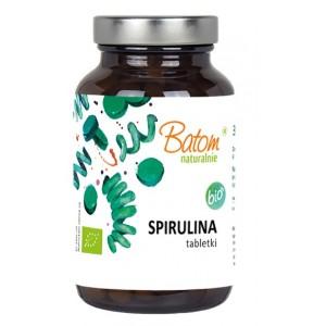 SPIRULINA TABLETKI BIO 120 g (1 TABLETKA   400 mg) – BATOM