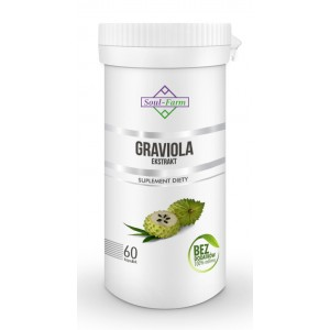 GRAVIOLA EKSTRAKT 550 mg 60 KAPSUŁEK - SOUL FARM