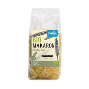 MAKARON (ORKISZOWY Z KURKUMĄ) NITKI ZŁOCISTE BIO 250 g - NIRO