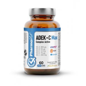 WITAMINY ADEK + WITAMINA C COMPLEX 60 KAPSUŁEK 21,2 g - PHARMOVIT (CLEAN LABEL)