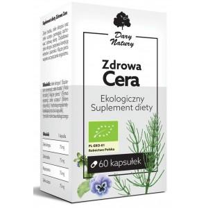ZDROWA CERA BIO 60 KAPSUŁEK (300 mg) - DARY NATURY