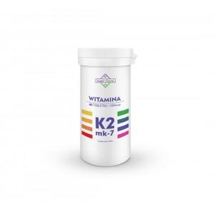 WITAMINA K2 MK7 60 TABLETEK (100 mcg) - SOUL FARM
