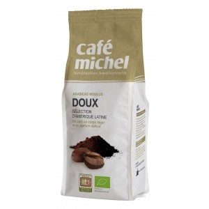 KAWA MIELONA ARABICA 100 % FAIR TRADE BIO 250 g - CAFE MICHEL