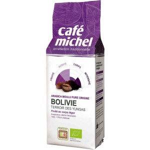 KAWA MIELONA ARABICA 100 % BOLIWIA FAIR TRADE BIO 250 g - CAFE MICHEL