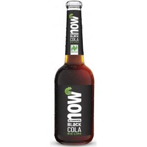 BLACK COLA (Z GUARANĄ) BIO 330 ml - NOW