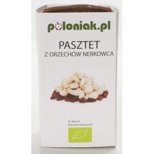 PASZTET WEGAŃSKI Z ORZECHÓW NERKOWCA BIO 160 g - POLONIAK