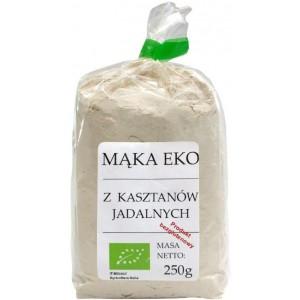 MĄKA Z KASZTANÓW JADALNYCH BEZGLUTENOWA BIO 250 g - VIANDS
