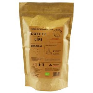 KAWA 100% ARABICA ZIARNISTA BRAZYLIA BIO 500 g - ALE EKO CAFE