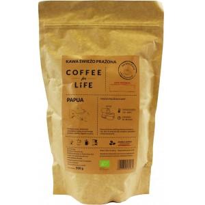KAWA 100% ARABICA ZIARNISTA PAPUA BIO 500 g - ALE EKO CAFE