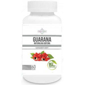GUARANA EKSTRAKT 500mg 60 KAPSUŁEK - SOUL FARM