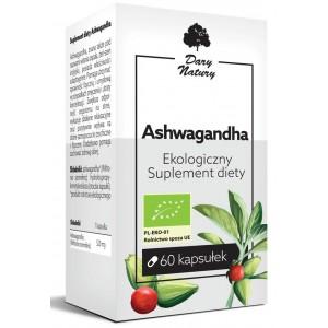 ASHWAGANDA BIO 60 KAPSUŁEK (520 mg) - DARY NATURY
