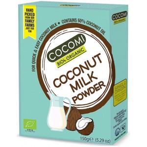 COCONUT MILK - NAPÓJ KOKOSOWY W PROSZKU BIO 150 g - COCOMI