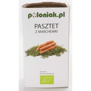 PASZTET WEGAŃSKI Z MARCHEWKI BIO 160 g - POLONIAK